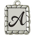 Pebble Border Charms for Jewelry Making