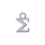 Small Greek Letters Charms for Jewelry Making