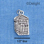 C1653 - Outhouse - - Silver Charm