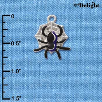 C1791 - Spider - - Silver Charm