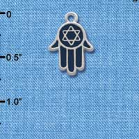 C1231 - Hand - Star Of David - Silver Charm