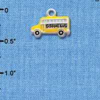 C1262* - School Bus - Side - Silver Charm (Left or Right)