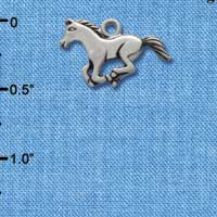 C1454* - Horse - Body - Silver Charm (Left or Right)