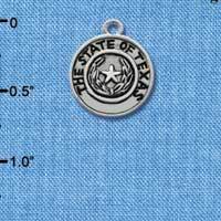 C1654 - Texas State Seal - - Silver Charm