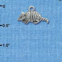 C1722* - Armadillo - Small - Silver Charm (Left or Right)