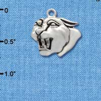 C2038* - Mascot - Panther - Silver Charm