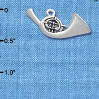 C2511 - French Horn - Silver Charm