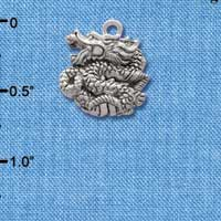 C2687 - Chinese Dragon - Silver Charm