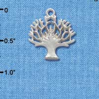 C2699+ - Tree of Life - Silver Charm