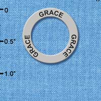 C3199 - Grace - Affirmation Message Ring