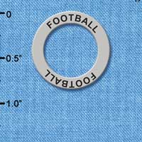 C3245 - Football - Affirmation Message Ring