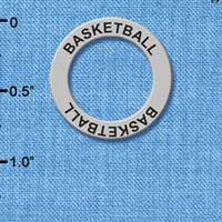 C3246 - Basketball - Affirmation Message Ring