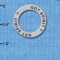 C3984 tlf - Got Spirit? - Affirmation Message Ring