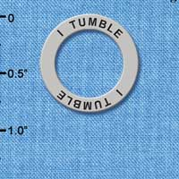 C3990 tlf - I Tumble - Affirmation Message Ring