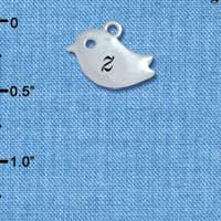 C5435+ tlf - Little Bird - Z - Silver Plated Charm
