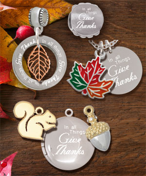 wholesale thanksgiving charms