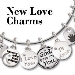 i love you charms for bangles