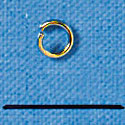 G4933 - Jump Rings - 4 mm Gold Tone (144 per package)