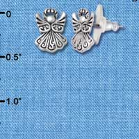 F1197 - Mini Angel - Post Earrings (1 Pair per package)