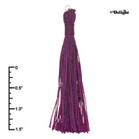 F2420+ tlf - Purple Tassel - Fabric Charm