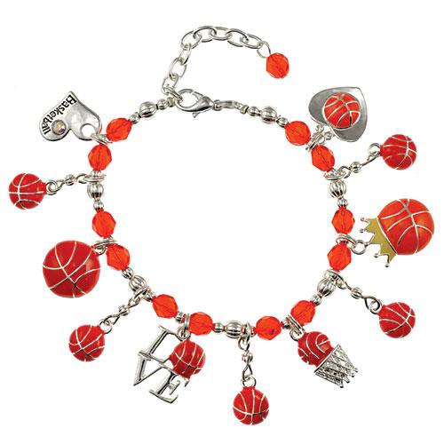 Basketball Charm Bracelet: Basketball Lovers