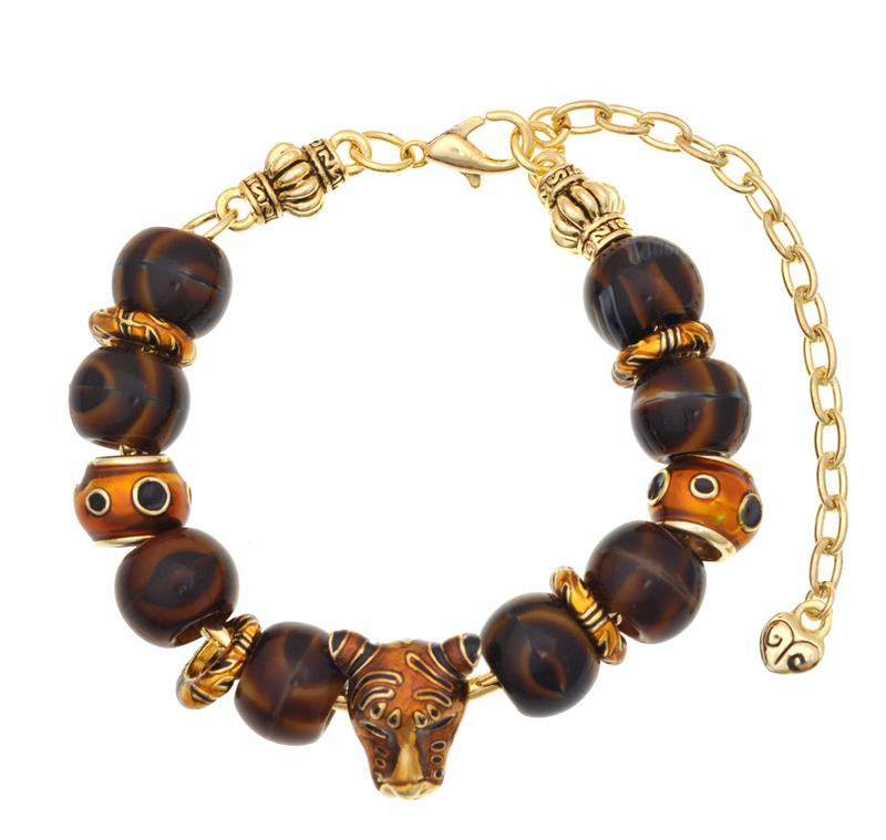 tiger charm bracelet jewelry ideas