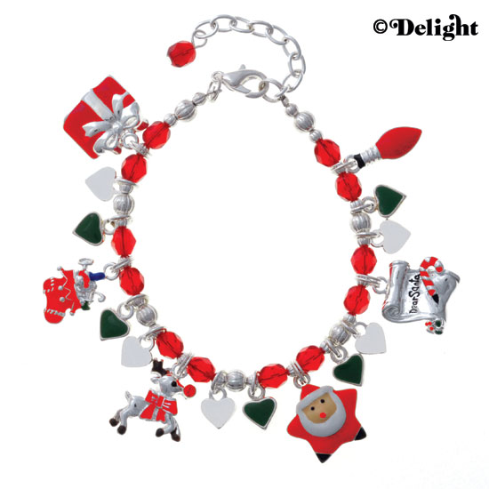 Christmas Charm Bracelet Ideas