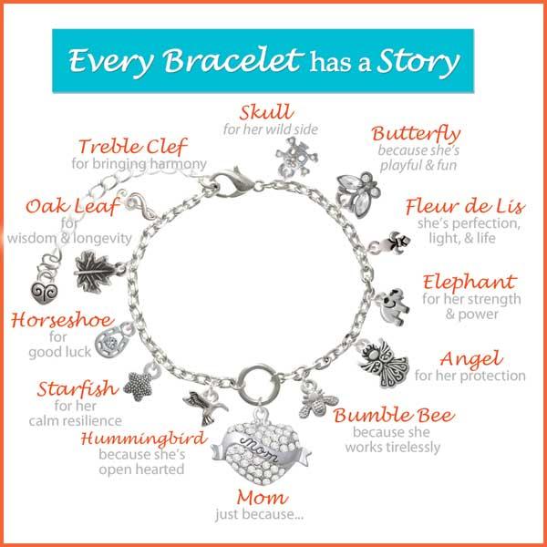 A Mother's Story Charm Bracelet