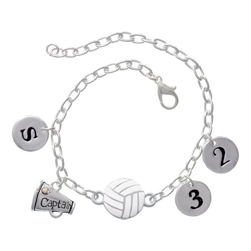 Volleyball Captain Connector Bracelet