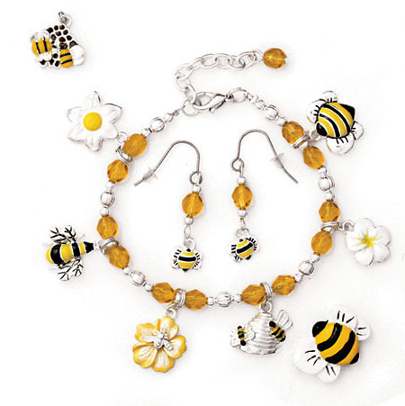 bee charm jewelry ideas