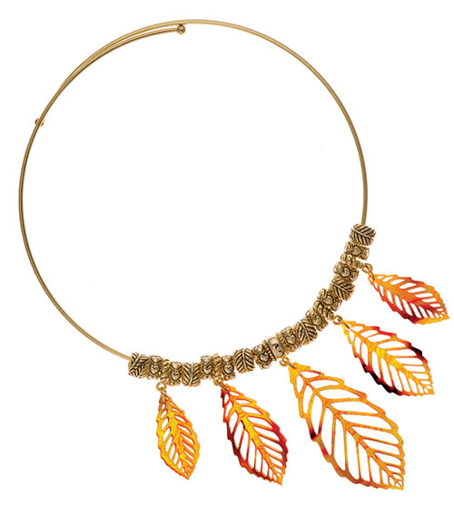 Leaf Choker Ideas