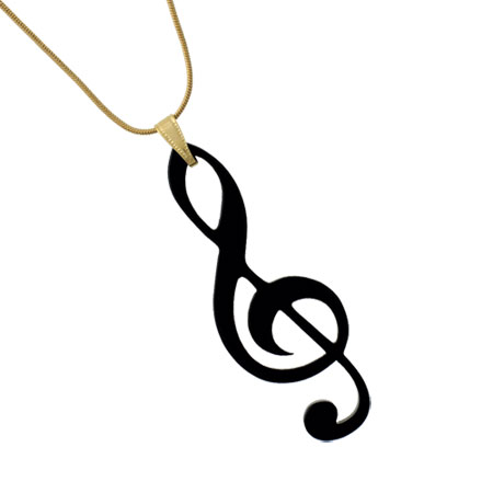 Music Clef Necklace