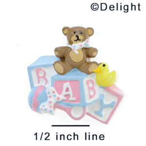 5176 - Baby Collage Multi Large - Resin Decoration