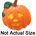 0088C tlf - Large Jack O'Lantern - Resin Decoration