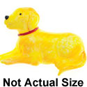 3295 tlf - Dog Yellow Lab Laying Medium - Resin Decoration