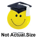 4982 - Smiley Face Graduate - Resin Decoration