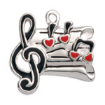 Music & Dance Charms for Jewelry Making
