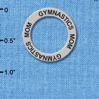 C3202 - Gymnastics Mom - Affirmation Message Ring