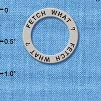 C3225 - Fetch What? - Affirmation Message Ring