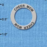 C3249 - Cheer Mom - Affirmation Message Ring