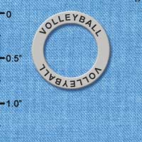 C3918+  tlf - Volleyball - Affirmation Message Ring