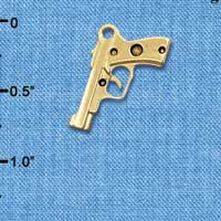 C6030+ tlf - 9mm Handgun - Gold Plated Charm