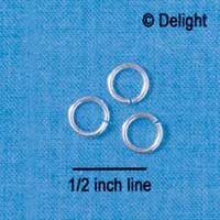 7mm Jump Rings (1mm thick)