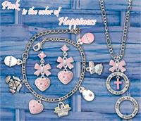 Pink is Happiness Easter Jewelry Ideas