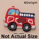9300 ctlf - Medium Fire Engine Truck - Resin Decoration